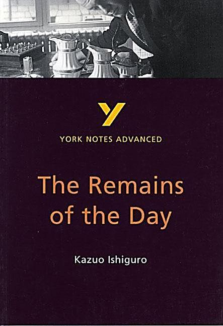 the remains of the day by kazuo The remains of the day npr coverage of the remains of the day by kazuo ishiguro news, author interviews, critics' picks and more the remains of the day books the remains of the day.