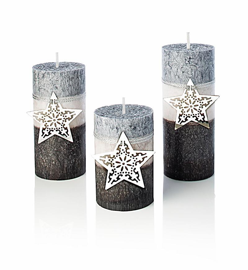 Kerzen silberglanz 3er set jetzt bei bestellen - Balkonmobel 3er set ...