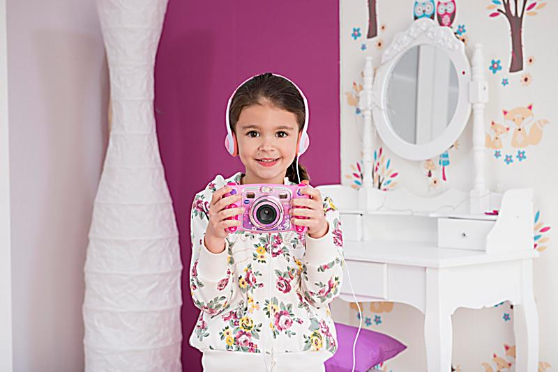 kidizomm duo pink kamera jetzt bei bestellen. Black Bedroom Furniture Sets. Home Design Ideas