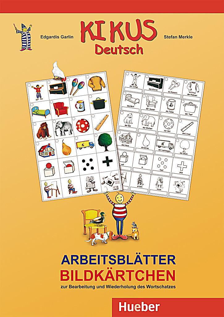 Arbeitsblätter Deutsch Tierbeschreibung : Kikus deutsch arbeitsblätter bildkärtchen buch weltbild