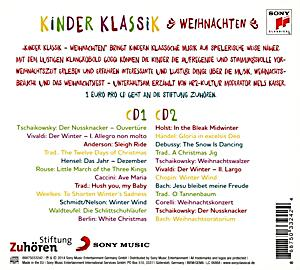 kinder klassik weihnachten cd von various bei. Black Bedroom Furniture Sets. Home Design Ideas