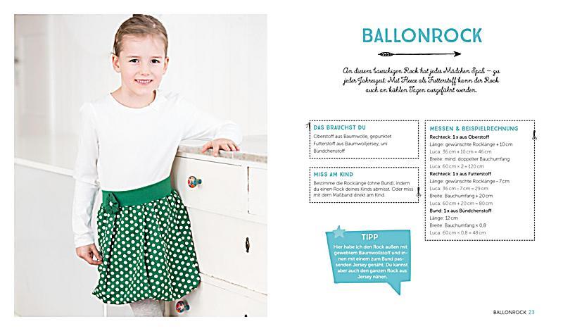 Kinderkleidung nähen ohne Schnittmuster Buch - Weltbild.de