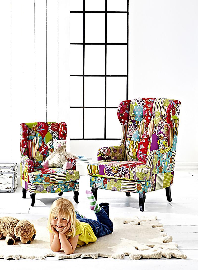 kindersessel lotta bunt jetzt bei bestellen. Black Bedroom Furniture Sets. Home Design Ideas