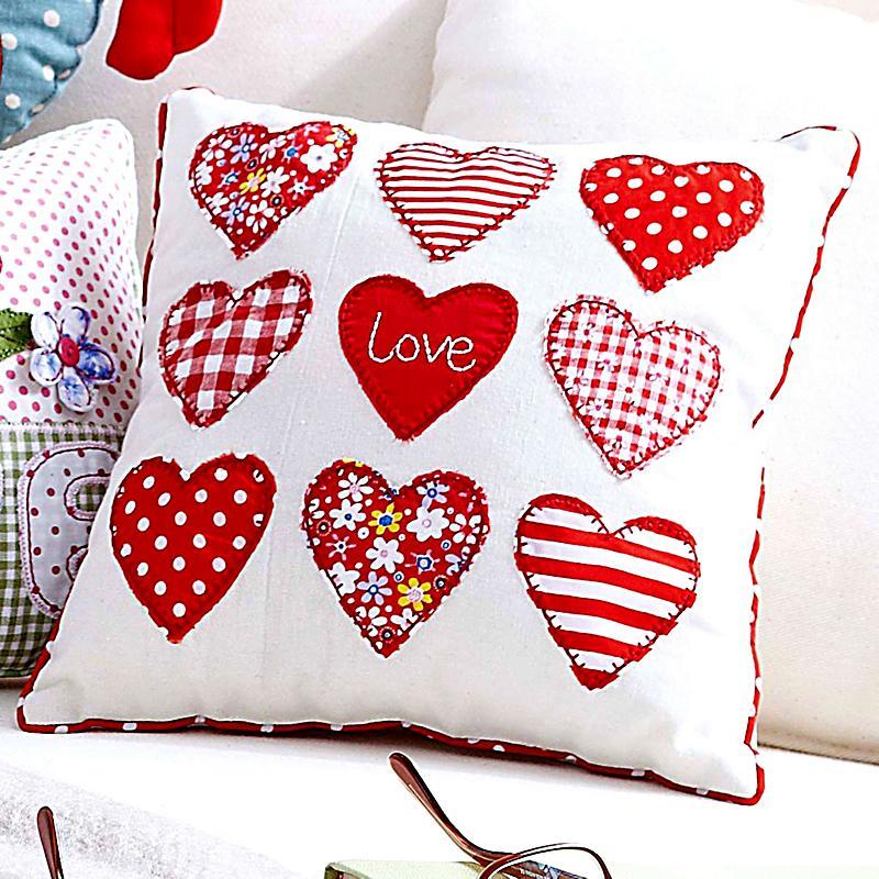 kissen kleine herzen jetzt bei bestellen. Black Bedroom Furniture Sets. Home Design Ideas