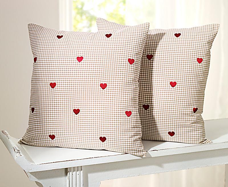 kissenh llen herzchen 2er set jetzt bei bestellen. Black Bedroom Furniture Sets. Home Design Ideas