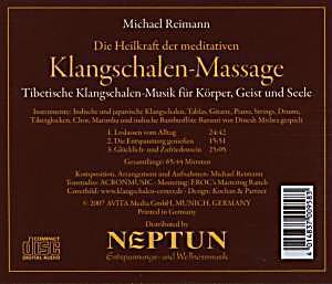 klangschalen massage cd von michael reimann bei. Black Bedroom Furniture Sets. Home Design Ideas