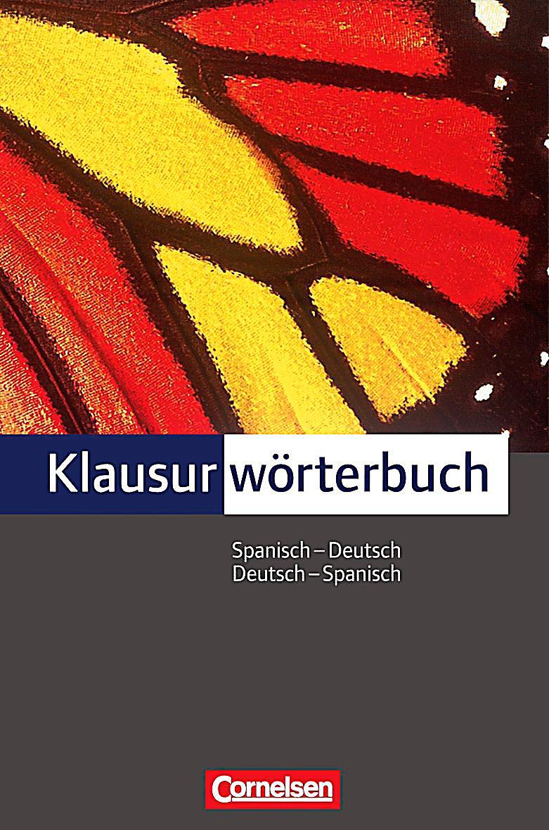 Brief Schreiben Spanisch Klausur Klausurwörterbuch Spanisch Deutsch