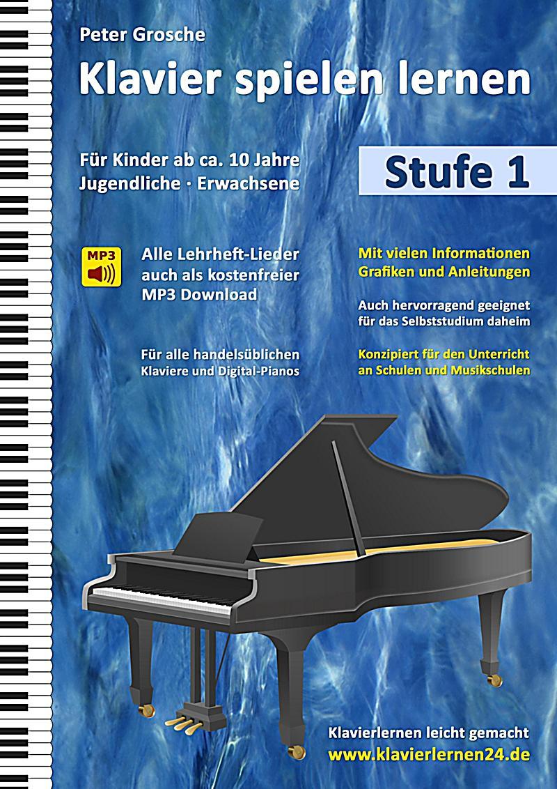 klavier spielen lernen stufe 1 buch portofrei bei. Black Bedroom Furniture Sets. Home Design Ideas