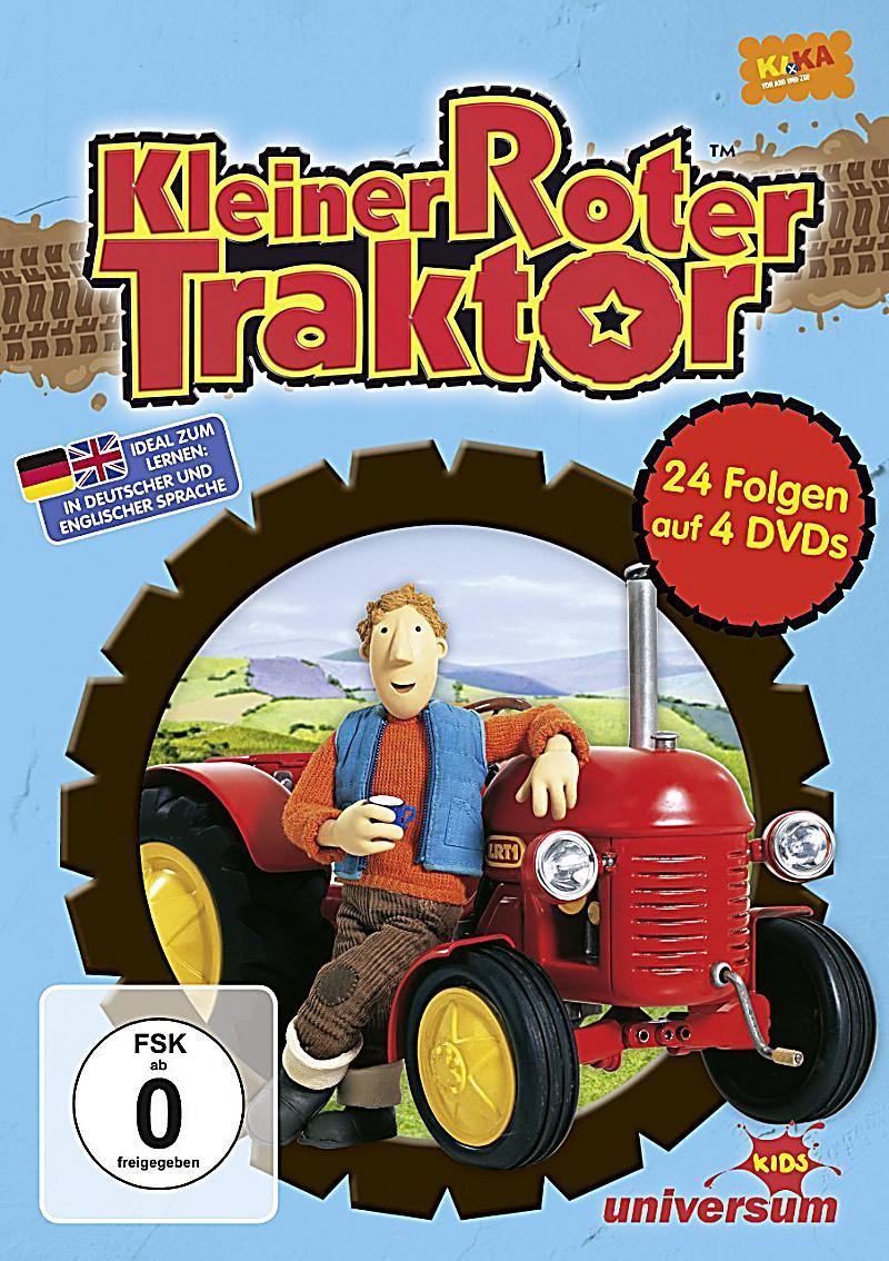 kleiner roter traktor box dvd 1-4 dvd bei weltbild.de