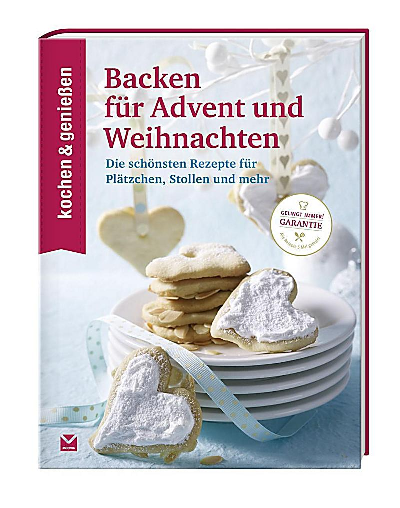 kochen genie en backen f r advent und weihnachten buch kaufen. Black Bedroom Furniture Sets. Home Design Ideas