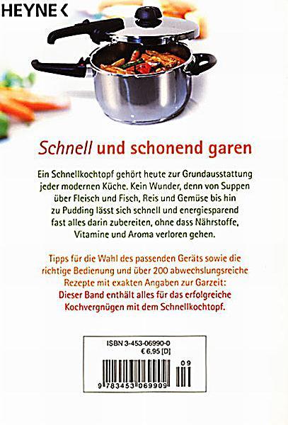 Kochen im schnellkochtopf buch bei online for Was kochen heute schnell