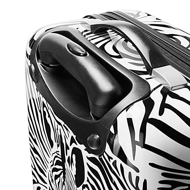 kofferset wildlife zebra 3 tlg jetzt bei bestellen. Black Bedroom Furniture Sets. Home Design Ideas