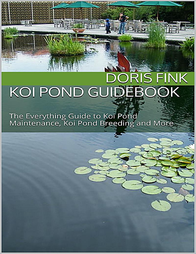 Koi pond guidebook the everything guide to koi pond for Koi pond maintenance service