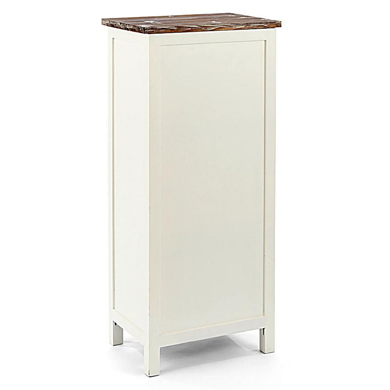 kommode atlanta weiss braun jetzt bei bestellen. Black Bedroom Furniture Sets. Home Design Ideas