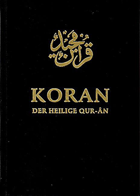 koran der heilige qur an arabisch deutsch buch. Black Bedroom Furniture Sets. Home Design Ideas