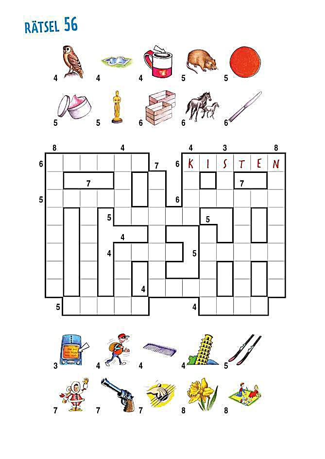 Kreuzworträtseln