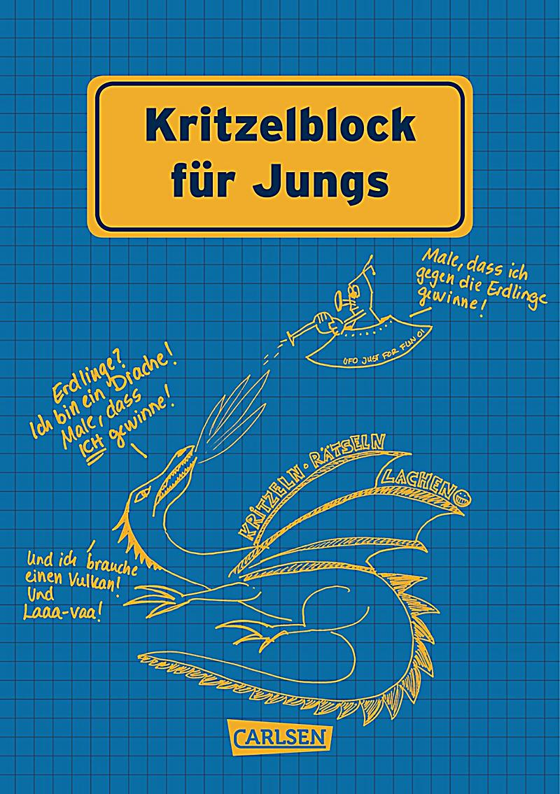 kritzelblock f r jungs buch portofrei bei. Black Bedroom Furniture Sets. Home Design Ideas