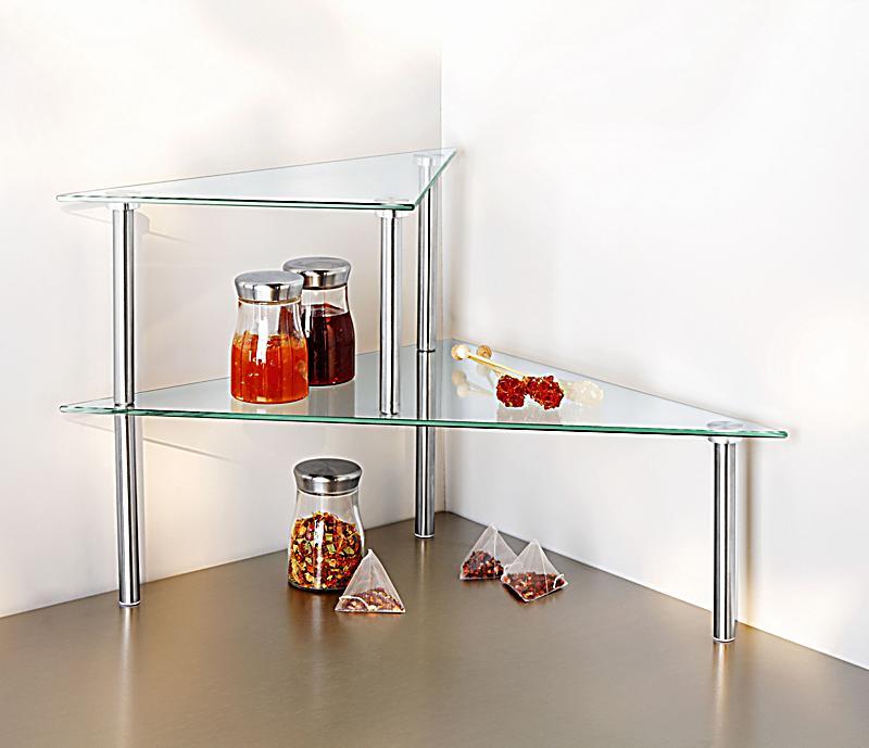 k chenregal aus glas jetzt bei bestellen. Black Bedroom Furniture Sets. Home Design Ideas