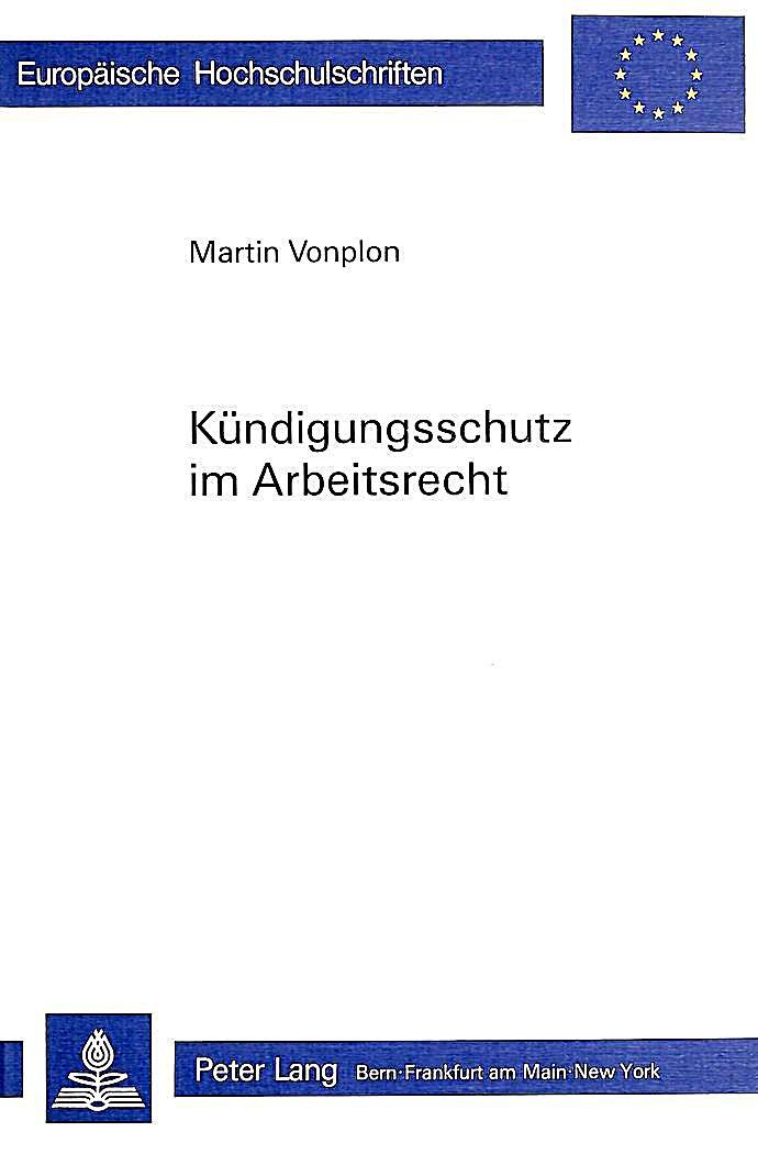 Kündigungsschutz Im Arbeitsrecht Buch Portofrei Bei Weltbildde