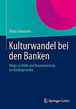 Kulturwandel bei den Banken Buch portofrei bei Weltbild.de