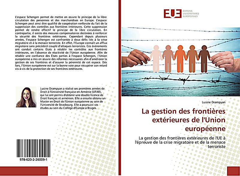 La gestion des fronti res ext rieures de l 39 union - La chambre des preteurs de l union europeenne ...