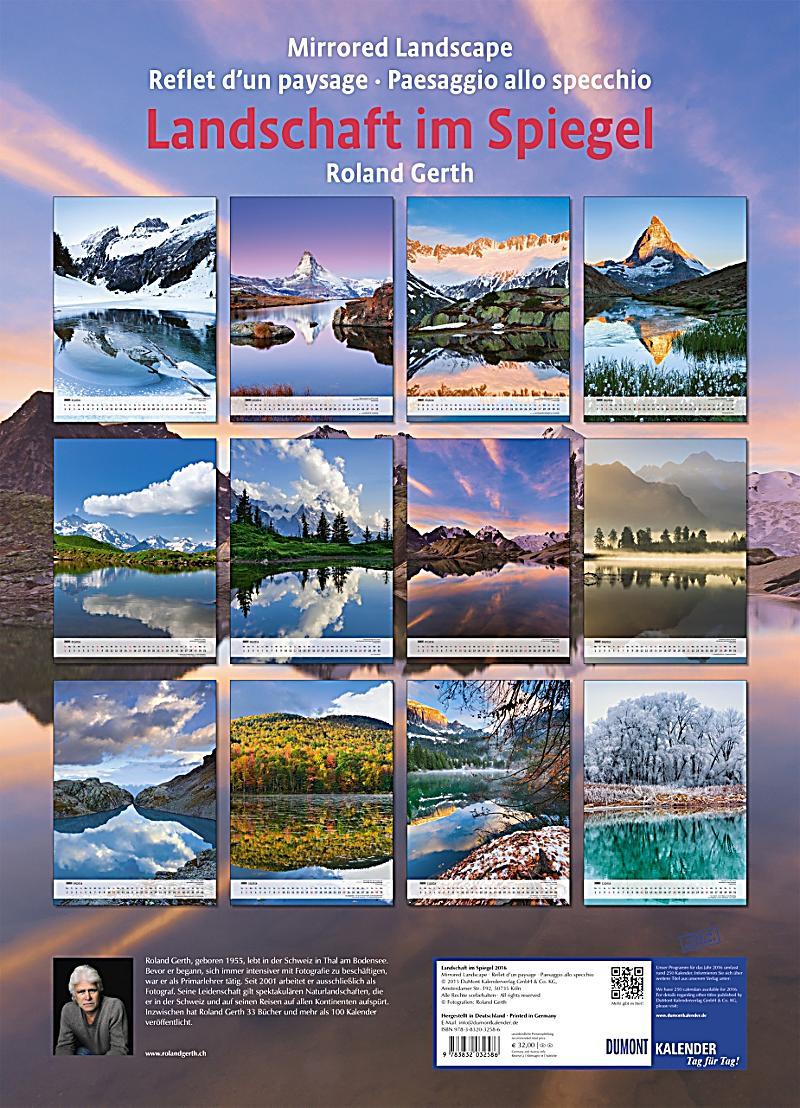 Landschaft im spiegel 2016 kalender bei - Landscape spiegel ...