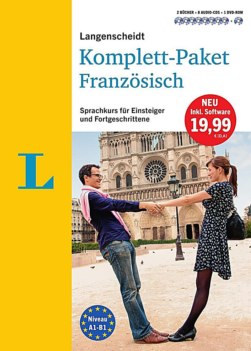 langenscheidt komplett paket franz sisch 2 b cher 8 audio cds 1 dvd rom mp3 download buch. Black Bedroom Furniture Sets. Home Design Ideas