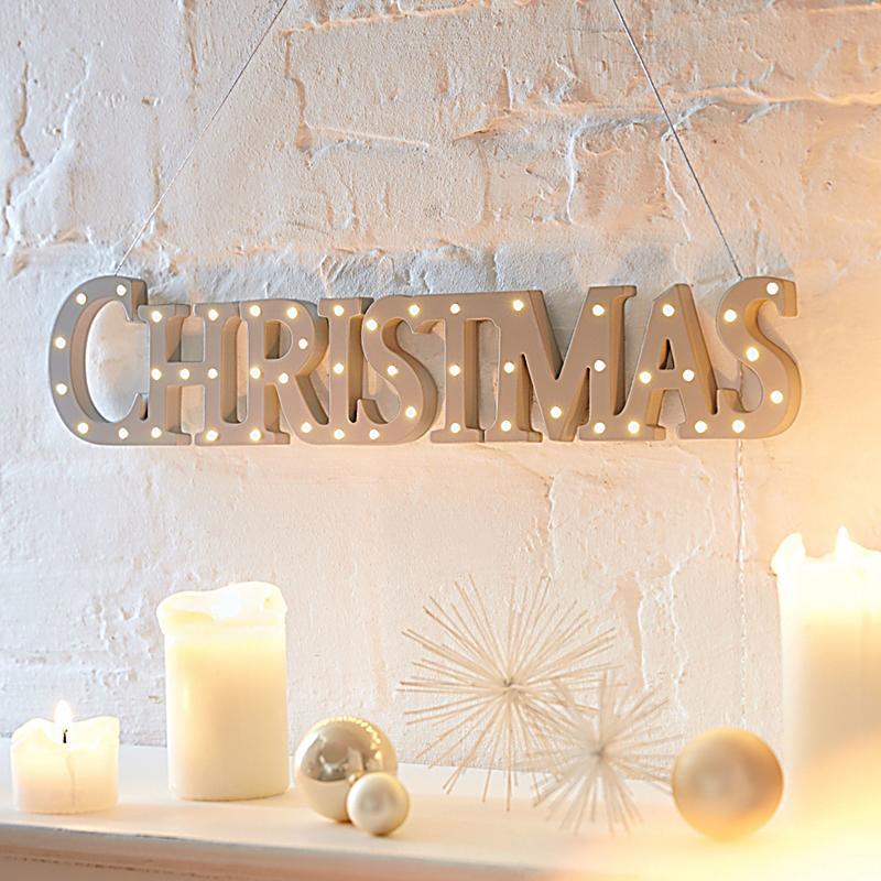 led deko objekt white christmas jetzt bei. Black Bedroom Furniture Sets. Home Design Ideas