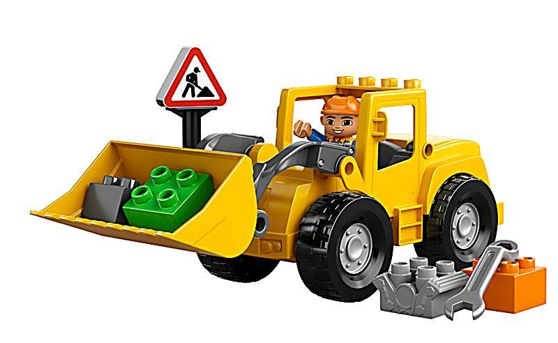 Lego® 10520 duplo® großer frontlader bestellen weltbild.de