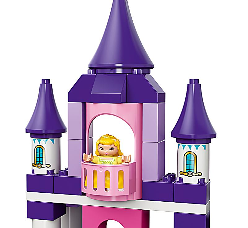 lego 10595 duplo sofia die erste k nigsschloss. Black Bedroom Furniture Sets. Home Design Ideas
