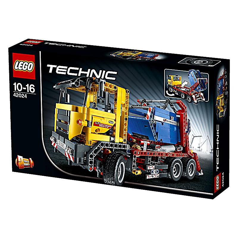 lego 42024 technic container truck bestellen. Black Bedroom Furniture Sets. Home Design Ideas