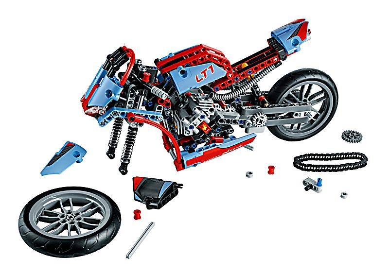 lego 42036 technic stra enmotorrad bestellen. Black Bedroom Furniture Sets. Home Design Ideas