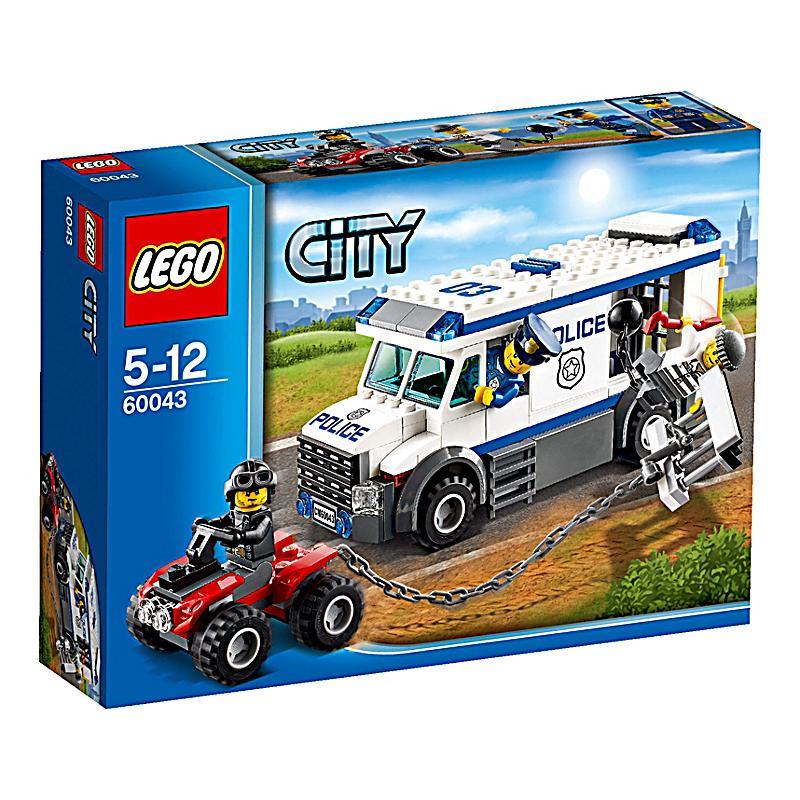lego® 60043 city  polizei flucht aus dem gefangenen