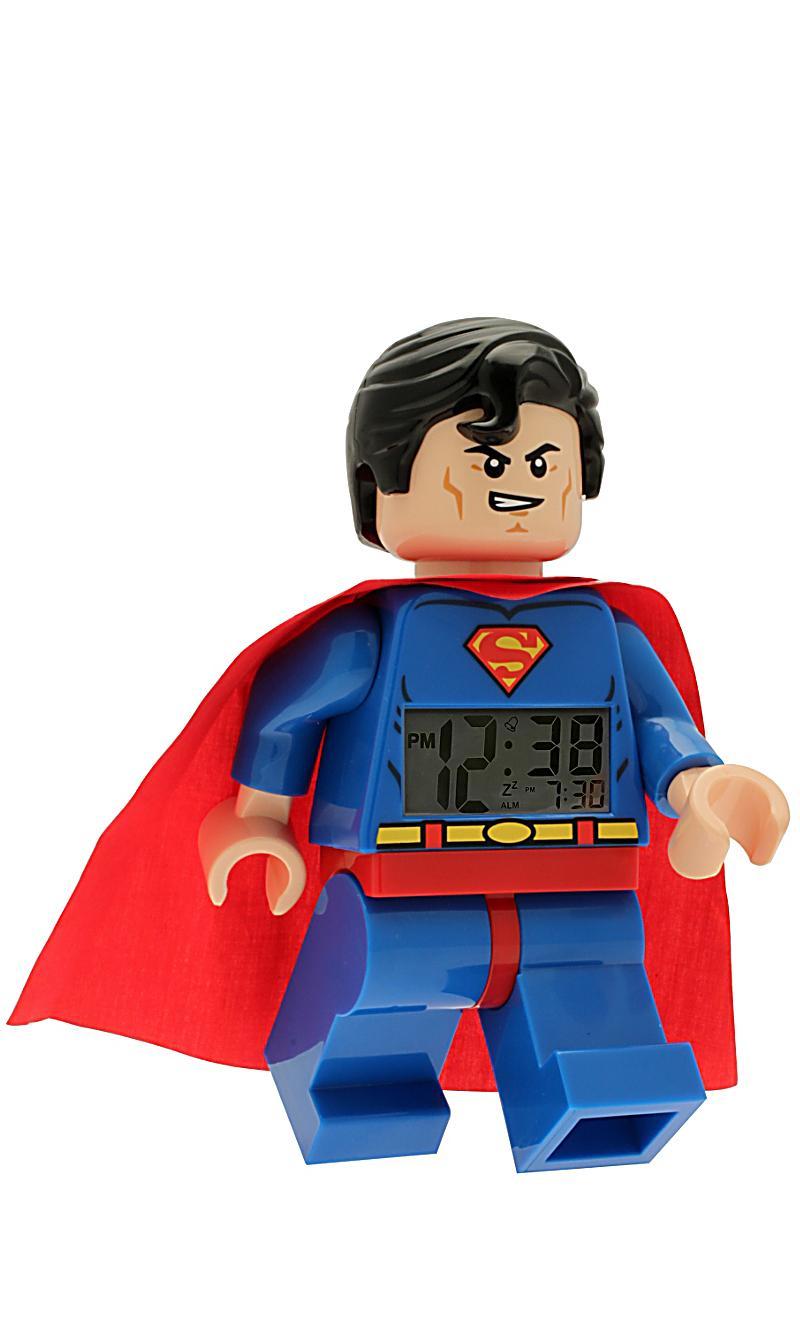 lego wecker superman jetzt bei bestellen. Black Bedroom Furniture Sets. Home Design Ideas