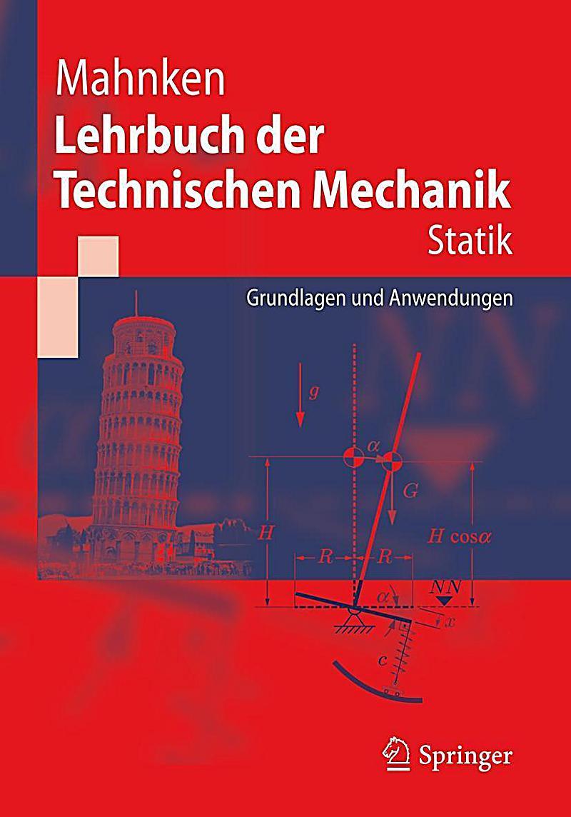 Lehrbuch der technischen mechanik statik buch for Statik mechanik