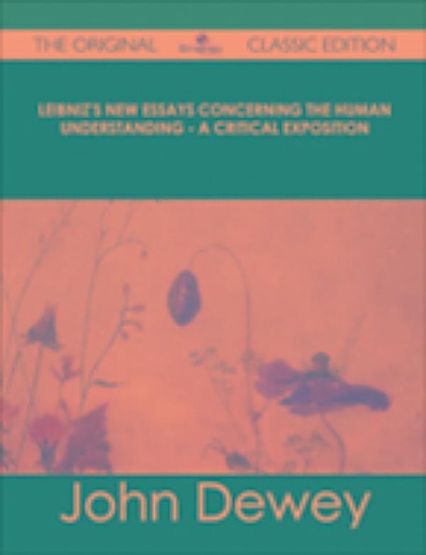 Leibniz new essays concerning human understanding