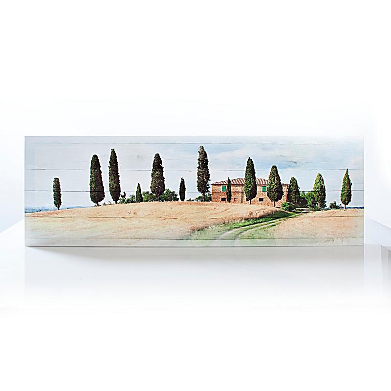 leinwand bild living in toscana 120 x 40 cm. Black Bedroom Furniture Sets. Home Design Ideas