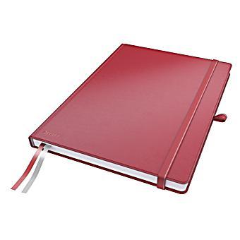 leitz notizbuch complete a4 kariert rot buch portofrei bestellen. Black Bedroom Furniture Sets. Home Design Ideas