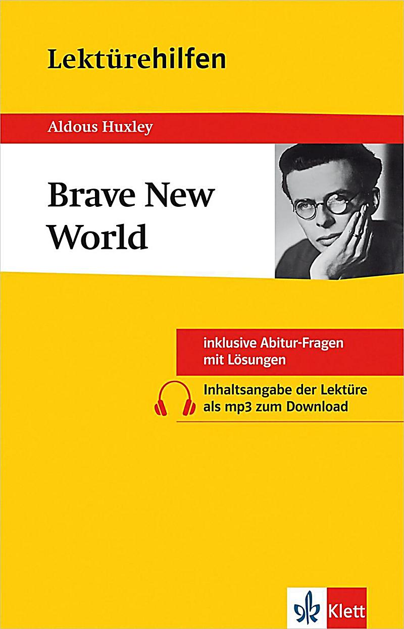 aldous huxley brave new world Syfy and steven spielberg's amblin tv are partnering to develop a scripted  series based on aldous huxley's classic novel brave new world.