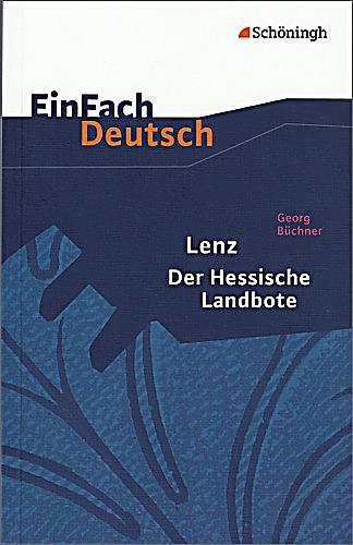 Lenz. Der Hessische Landbote Buch bei Weltbild.de bestellen