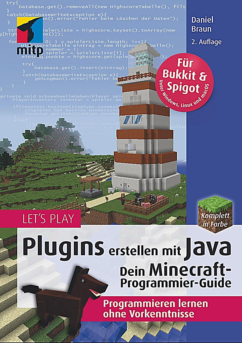 let 39 s play plugins erstellen mit java buch portofrei. Black Bedroom Furniture Sets. Home Design Ideas