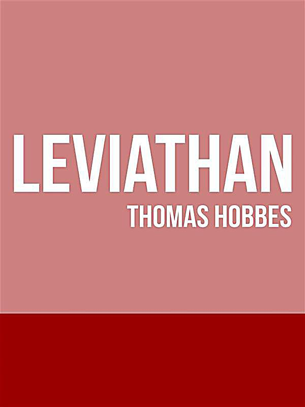 The legitimacy of a government in leviathan a book by thomas hobbes