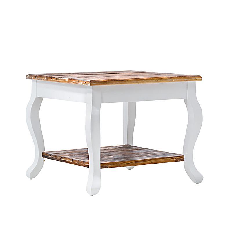 Liamare Tisch Country ~ liamare by miaVILLA Beistelltisch Country Weiß  Weltbildde