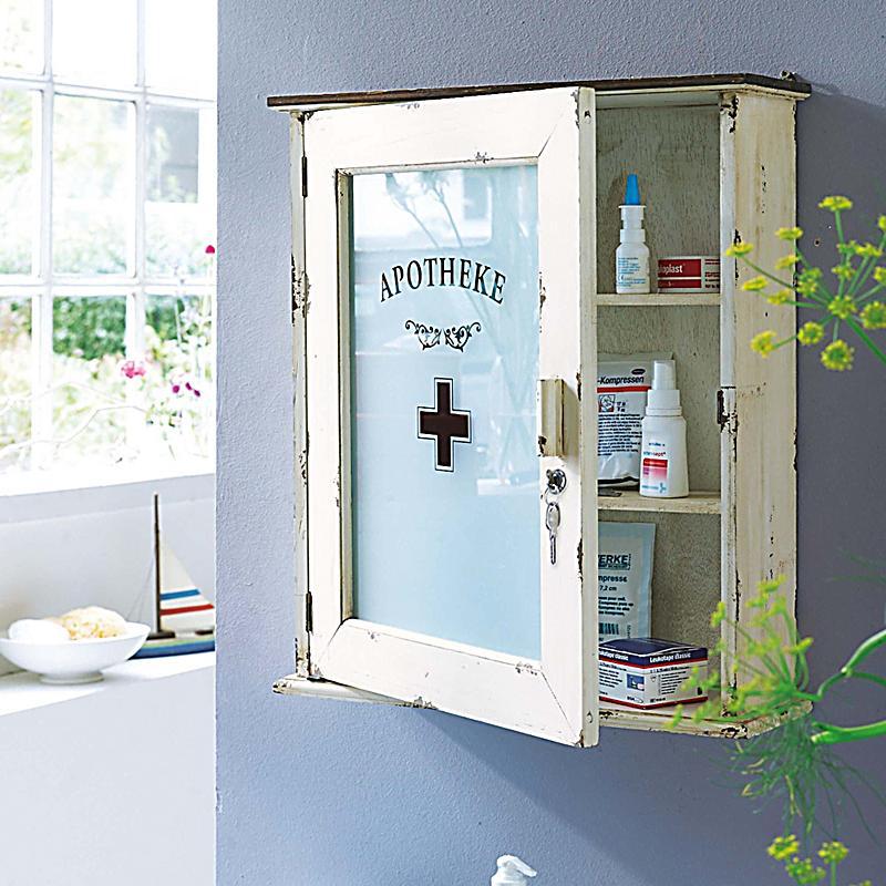 liamare medizinschrank farbe altweiss bestellen. Black Bedroom Furniture Sets. Home Design Ideas