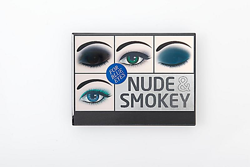 lidschatten palette smokey eyes f r blaue augen. Black Bedroom Furniture Sets. Home Design Ideas