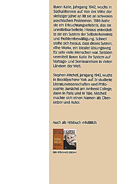 Funky Byron Katie Die Arbeit Arbeitsblatt Gift - Mathe Arbeitsblatt ...