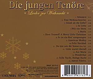 lieder zur weihnacht cd von die jungen ten re bei. Black Bedroom Furniture Sets. Home Design Ideas