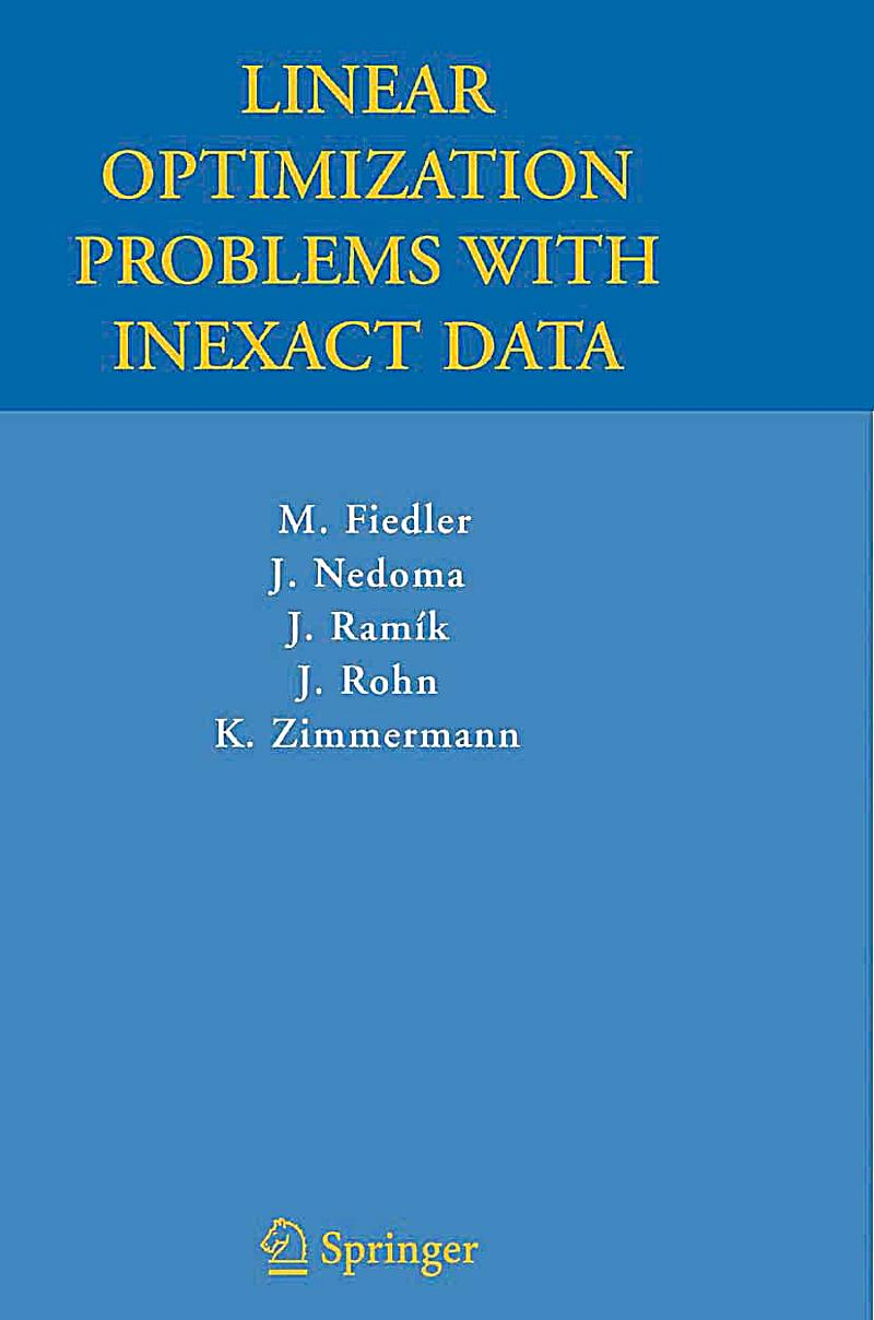 optimization problems and solutions pdf