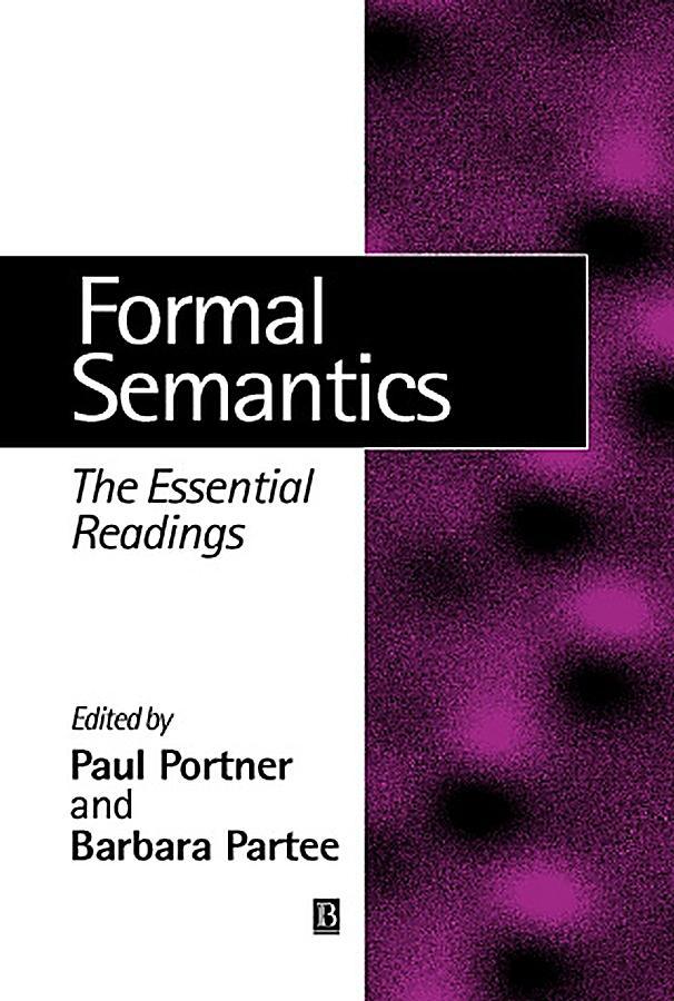 definition of semantics in linguistics pdf