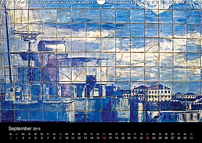lissabon wei e stadt am meer wandkalender 2018 din a3 quer kalender bestellen. Black Bedroom Furniture Sets. Home Design Ideas